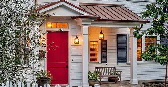 Exterior High Quality Painting Columbus Door painting in Columbus